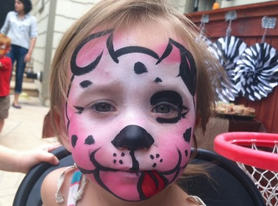 #dog #doggy #puppy #face #paint #birthday #party #snappyfacepainting