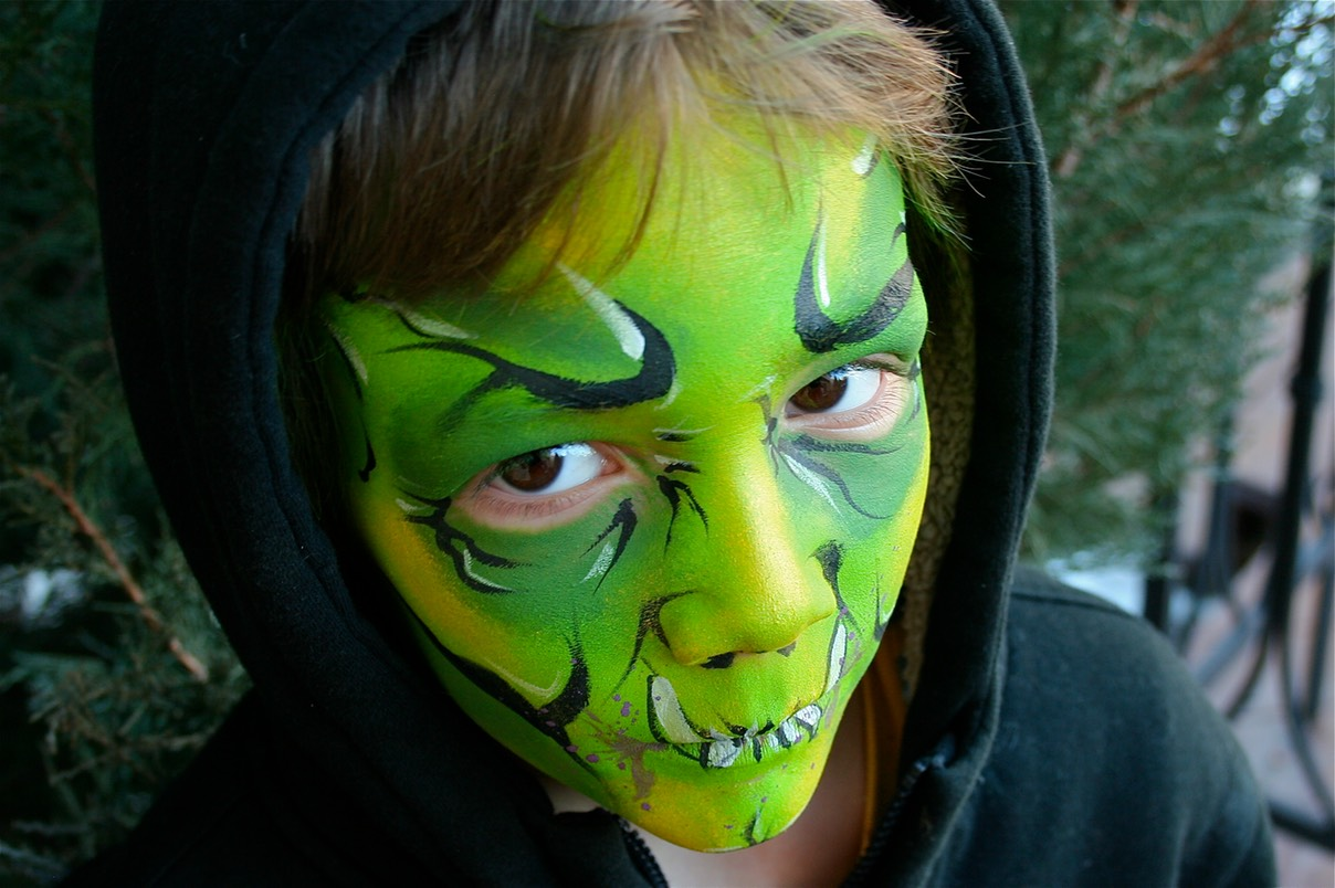 #monster #green #face #paint #facepainting #party #entertainment #snappyfacepainting