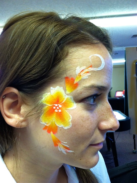 Denver Colorado Face and Body Art Painter Entertainment